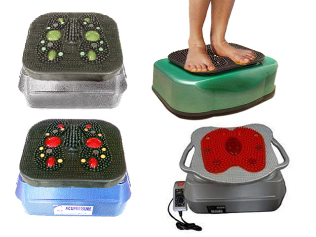Aacupressure Health Care Oxygen and Blood Circulation Foot Points Massage Vibrate Mmachine