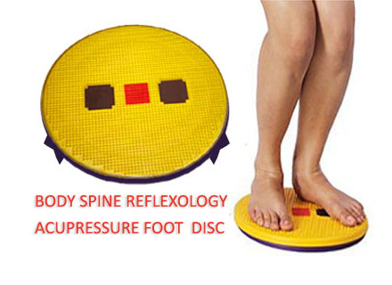 Aacupressure Body Spine Reflexology Foot Mat