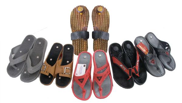 Acupressure Points Health Care Magnetic Footwear