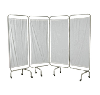 Four Fold Bed Side Screen