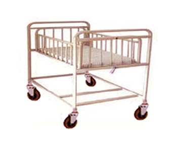 Hospital Child Baby Cardle on stand (Trolley)