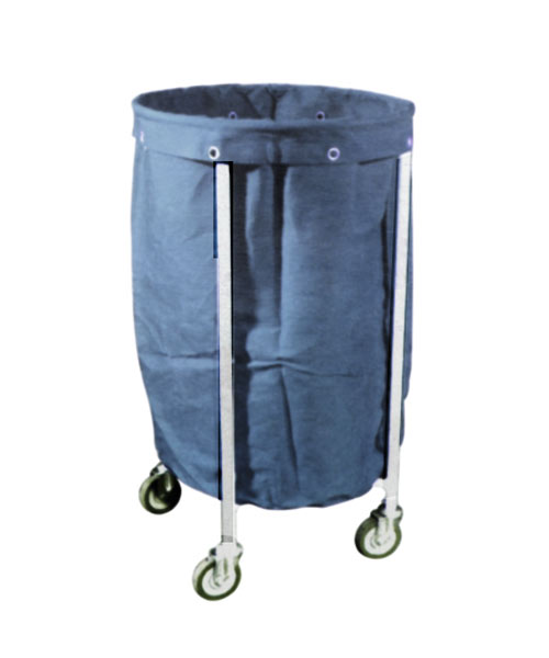 Hospital Waste Cloth Basket Trolley