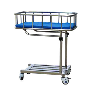 Hospital ward bed Side Baby Birth Trolley