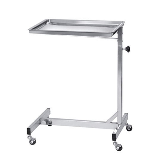 MS Tray Plate Stand Wheel Trolley