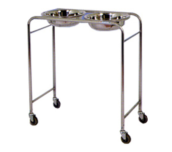 SS Wash Basin Trolley Stand