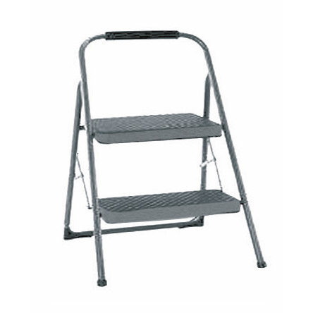 >Metal Chair Type Folding Step Stool