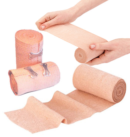 Shubh Surgical Supplier of Health Care Fast Edge Crepe Cotton Bandage Reel