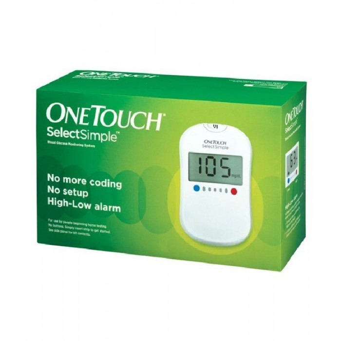 Johnson One Touch Sugar Test Gluco Meter