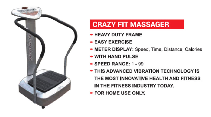 Crazy Fit Massager Electro Machine