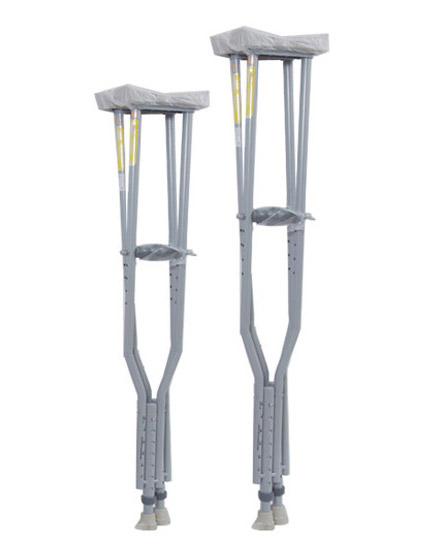 Metal Underarm Crutches Walker