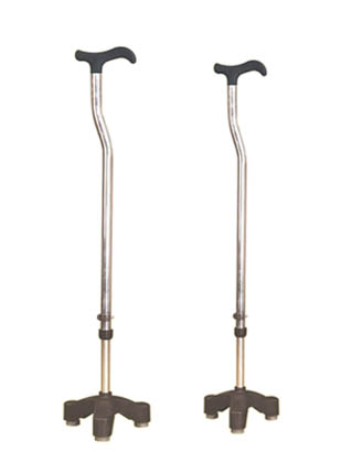 Steel Tripoid Walking Stick Walker